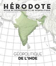 Géopolitique de l'Inde par Revue Hérodote