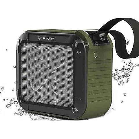 [con una bicicletta supporto, migliore Outdoor & doccia altoparlante Bluetooth]