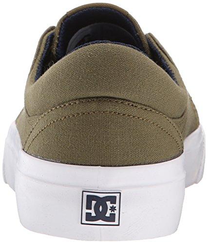 Dc Trase Tx J Chaussure Bkw, Sneaker Basse Uomo Dark Olive