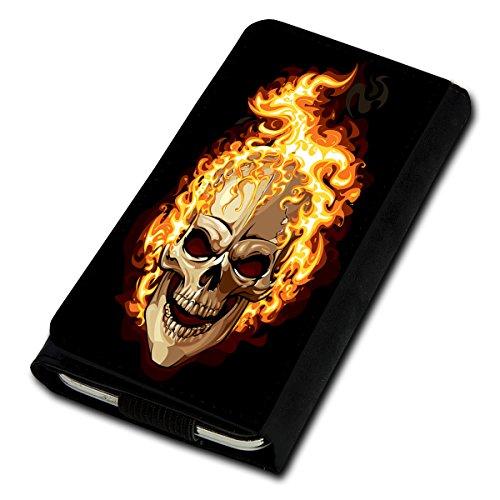 Book Style Flip Handy Tasche Case Schutz Hülle Foto Schale Motiv Etui für Haier Voyage V3 - Flip U4 Design12