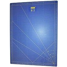 Base de corte Patchwork profesional Azul 60x45 auto cicatrizante de alta calidad por una lado en