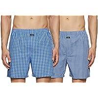 Jockey Men's Boxer Short, Assorted, L, Pack of 2