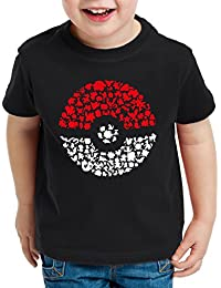 A.N.T. Fang sie alle T-Shirt für Kinder poke ball monster spiel online