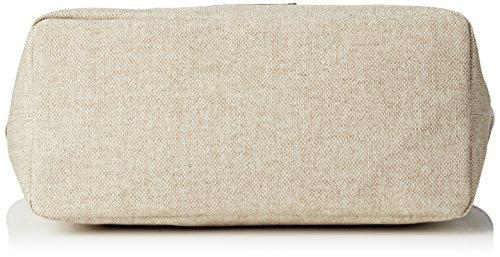 Timberland Tb0m5152, Borsa a mano Donna, 16.5x27.5x45.5 cm Beige (TRAVERTINE)