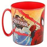 Spiderman- Taza plastico Micro 350 ml (STOR 33404)