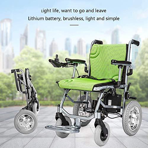 AYHa Double Control Elektro-Rollstuhl Auto Off-Road-Version Batterie Senioren Behinderte Aluminiumlegierung Reisen (Offroad-rollstuhl)