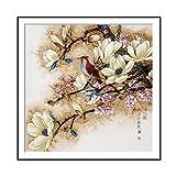 Mouchao 14168 Uccelli di Fiore di Stile Cinese Stampa Artistica su Tela Decorazione della Parete