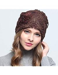 TianMI cappello Foulard da Donna Cappello Fascia per Capelli Cappello da  Donna Cappello Caldo Inverno Decorazione 987c643c266e