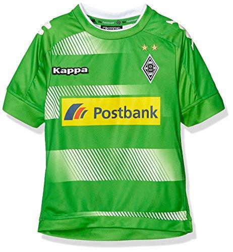 Kappa Kinder Trikot Away 2016/2017 Borussia Mönchengladbach, Grün, 164