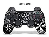 Schutzfolie für Playstation 3 Controller- Northstar silber