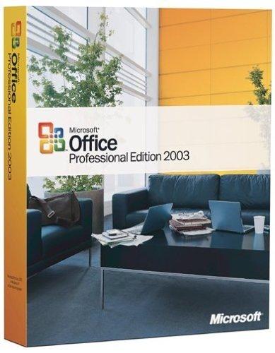 SB/MS Office 2003 Pro+SP2/EN CD W32 3pk, incl. Word, Excel, Outlook, PowerPoint, Publisher, Access