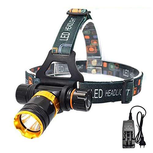 whbage LED Kopflampe 4000 Lumen LED-Tauchscheinwerfer 5-Modus-Tauchscheinwerfer Wasserdichter Tauchscheinwerfer für Unterwasserarbeiten