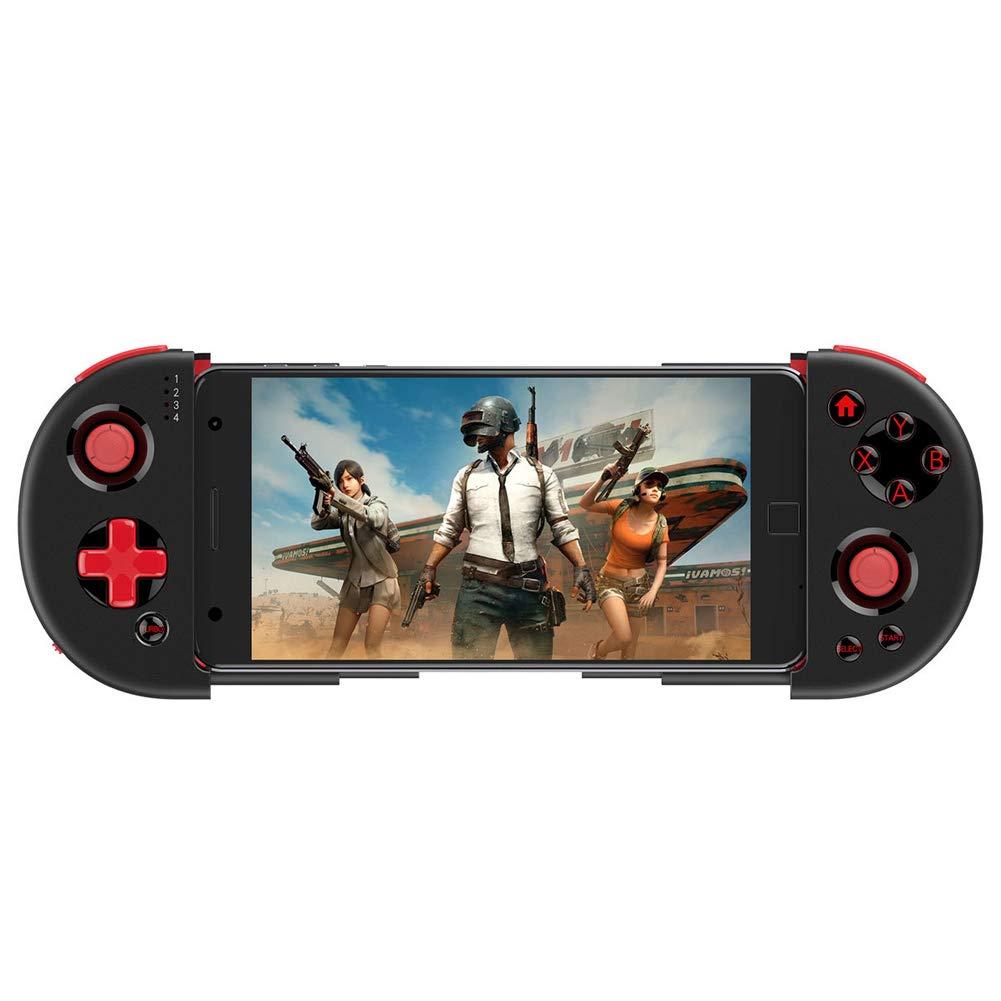 2019 nouveau contrôleur mobile,avec Bluetooth 4.0, jeu télescopique pour contrôleur de jeu rechargeable avec manette de jeu