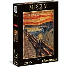 Clementoni - Puzzle grandes museos 1000 piezas Munch: El grito (39377)