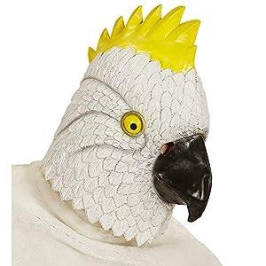 WIDMANN Partypackage Ltd Máscara de loro del Caribe para disfraz de animal