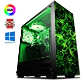 VIBOX Killstreak GS550-158 PC Gamer Ordinateur avec War Thunder Jeu Bundle, Windows 10 Os (4,0GHz Intel i3 Quad-Core Processeur, Nvidia GeForce GTX 1050 Carte Graphique, 16GB DDR4 RAM, 1TB HDD-SSD)