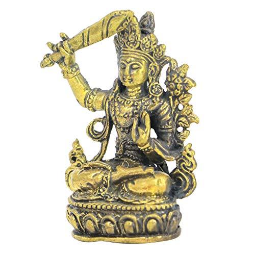 Manjushri-statue (perfeclan Deko Skulpturen Statue Figur Ornamente, Buddha -Statuen, Wohnaccessoires, Büro, Skulptur Dekoration - Manjushri)