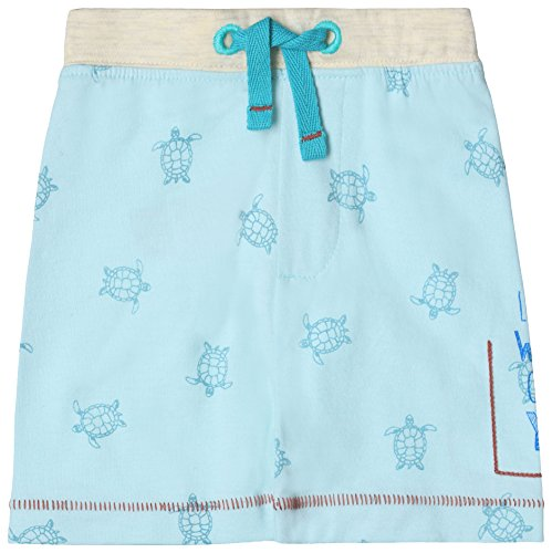 ESPRIT KIDS Baby-Jungen Shorts RL2311204, Blau (Light Sea 407), 74