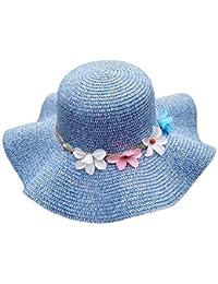 Sombrero para El Sol Sombrero De Verano Sombrero Mujer para para El  Acogedor Sol Sombrero De Playa Elegante Moda Ocio Sombrero De… 8f520e3872a5
