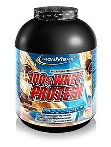 IronMaxx 100% Whey Protein - Eiweißshake-Pulver mit 100% Whey Konzentrat -...