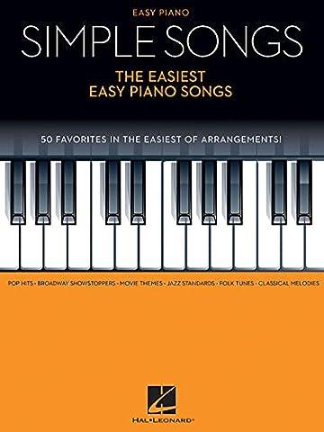 Simple Songs: The Easiest Easy Piano Songs