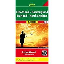 Schottland-Nordengland, Autokarte 1:400 000 (freytag & berndt Auto + Freizeitkarten)