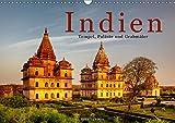 Indien: Tempel, Paläste und Grabmäler (Wandkalender 2019 DIN A3 quer): Indiens spektakulärste Baudenkmäler (Monatskalender, 14 Seiten ) (CALVENDO Orte)