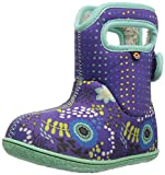 Bogs Girls Baby Reef Violet Multi Insulated Washable WARM Wellies Boots 722971-UK 6 (EU 23)