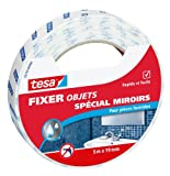 "tesa Spécial Miroirs ""Especially for Mirrors"" 55759-00000-00 Adhesive Tape for Mirrors 5 m x 19 mm"