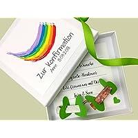 Geldgeschenk zur Kommunion / Konfirmation PERSONALISIERT Regenbogen