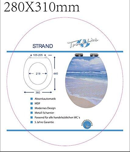 TrendLine WC-Sitz Strand