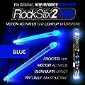 Brilliant Blue - Led Light Up Drum Sticks - Rockstix Firestix