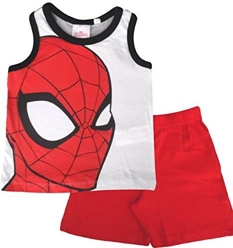 Marvel Official Licensed Spiderman Summer Pajamas