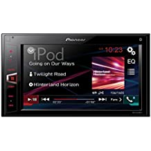 "Pioneer MVH-AV280BT - Pantalla táctil doble de 6.2"" (Bluetooth, USB, BT audio) negro"