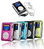 takestop MINI LETTORE MP3 PLAYER CLIP USB CON display LCD SCREEN SUPPORTA 32GB MICRO...