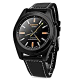Smart Watch, No.1 S9 Waterproof Bluetooth Smartwatch Fitness Tracker with Heart Rate Monitor/ Sleep Monitor/ Call Message Notification/ Remote Music & Camera Smart Bracelet Health Wristband for Android & IOS Smartphone (Black)
