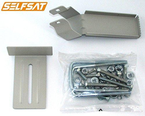fensterhalterung selfsat Selfsat MT-FEN-SELFSAT-AFR Fensterhalterung für flache Antenne H30D / H30D1 / H30D2Grau
