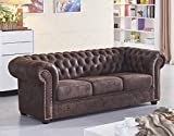 Chesterfield Ledersofa Ledercouch Chesterfield-3-Vf03