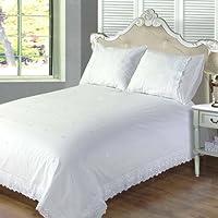 Suchergebnis Auf Amazonde Für Bettwäsche Weiß Rüschen Bettwäsche