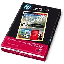 HP Color Laser Paper 90 gsm-500 sht/A4/210 x 297 mm - Papel (Mate, Color blanco, 90 g/m², 2,81 kg, 20-80%, 15-35 °C)