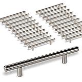 20 x SO-TECH® G18 Möbelgriffe Stangengriffe Relinggriffe echt Edelstahlrohr Ø 10 mm/BA 160 mm