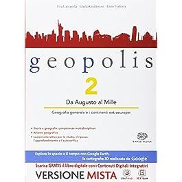 Geopolis – Volume 2 + Atlante Il mondo sostenibile. Con Me book e Contenuti Digitali Integrativi online