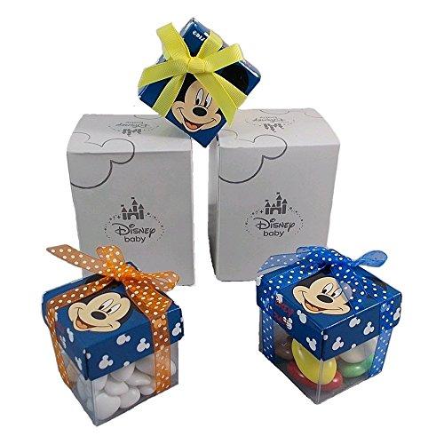 Bomboniere topolino disney astuccio scatoline portaconfetti disney cm. 5x5 - m112200