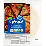 Bases Genius Gluten pizza 2 por paquete