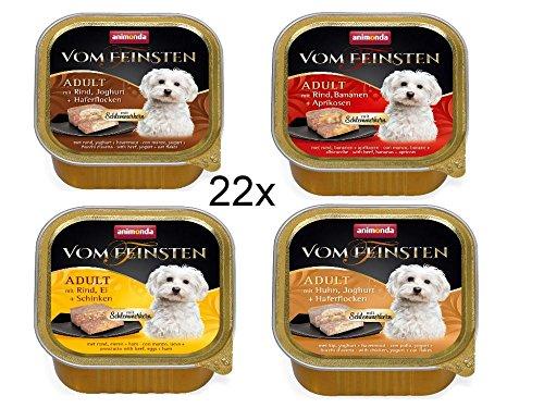Animonda Hund Vom Feinsten Adult Special Mix Probierset Hundefutter Größe 22 x 150g