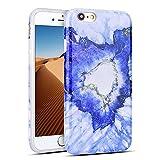 Mosoris Coque iPhone 6S, iPhone 6 Silicone Csae Marbre Motif TPU Souple Housse Etui...