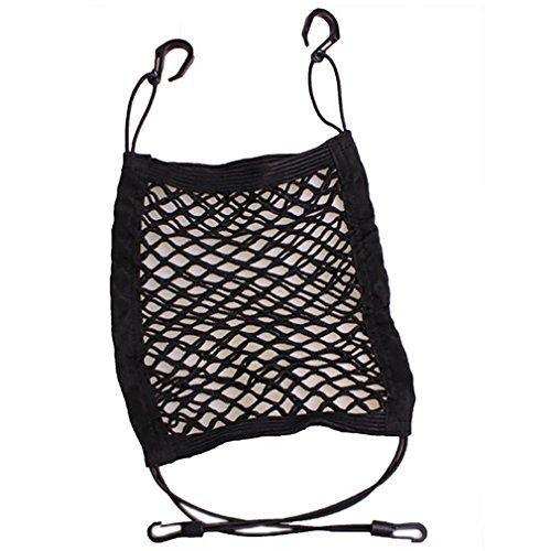 WJJ-Universal Car Seat Storage Mesh / Organizer - Mesh Cargo Net Haken Tasche für Bag Gepäck (Magazine Rack Folding)