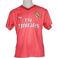 Camiseta - Personalizable - Tercera Equipación Replica Original Real Madrid 2018/2019 (6 años)