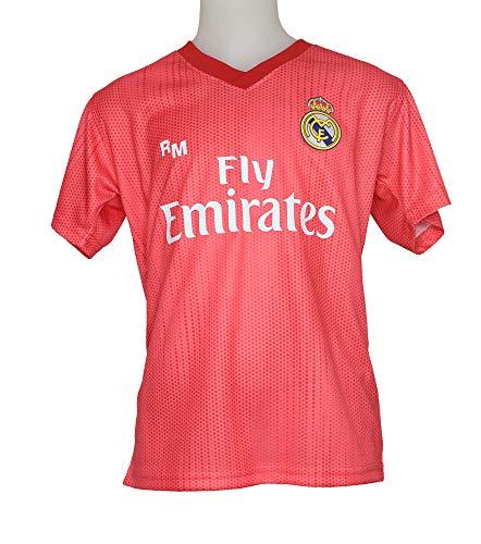 Real Madrid FC Camiseta Infantil Réplica Oficial Licenciado Tercera Equipación 2018/2019 (8 Años)