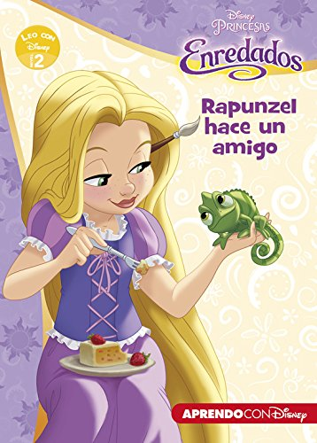 Rapunzel hace un amigo (Leo con Disney Nivel 2)